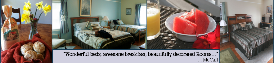 Great Breakfasts and Comfortable Beds at Seven Oaks